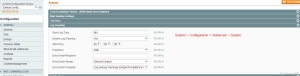 Magento-Speed-Optimization-Magento-Configuration-Log-Setting