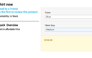 magento configurable product