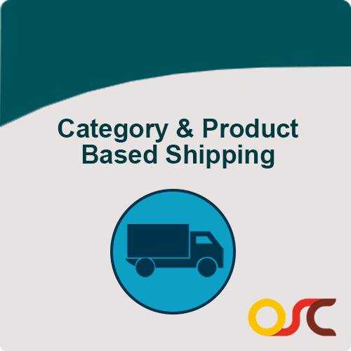 category product based shipping