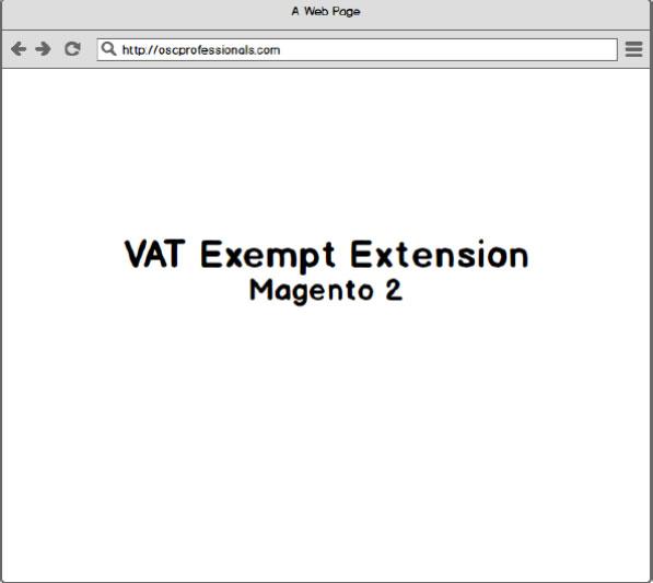 vat exempt magento 2 extension