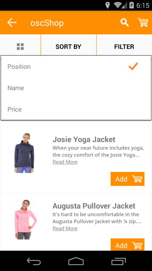 oscShop Mobile App for Magento 2_27