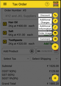 Additional_Tax _Order_options