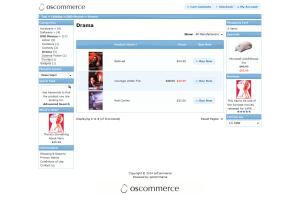 Drama, osCommerce