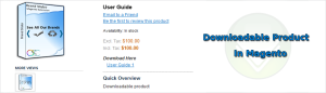 download product in magento