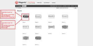 brand slider magento1 display brand page