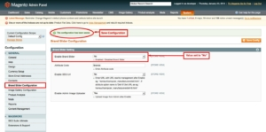 brand slider magento1 enable module and save configuration from admin