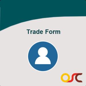 trade form