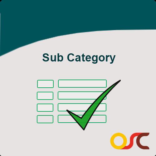 sub-category