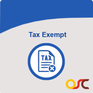 tax exempt magento module