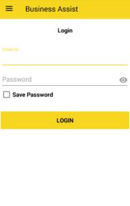 user login screens